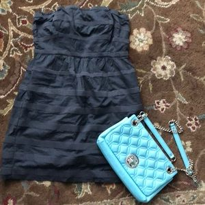 J crew strapless dress